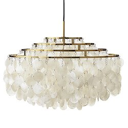 Fun 10DM Brass Pendant Light - 90th Anniversary Edition