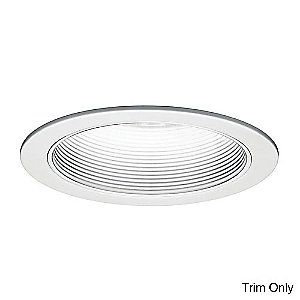 6 Inch Line Voltage Step Baffle Trim - R-620 by WAC Lighting