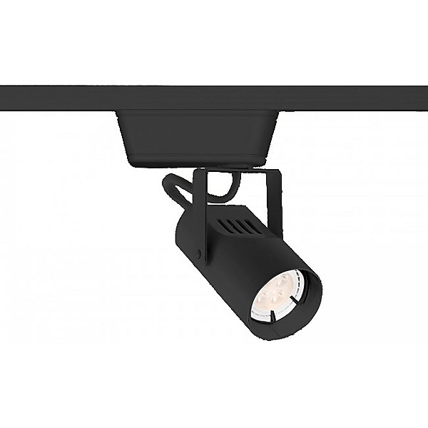 007LED Low Voltage Track Lighting by WAC Lighting Color Black Finish Black HHT 007LED BK