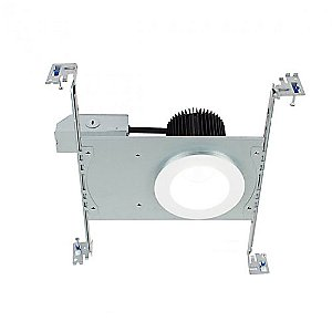 Summit 2.0 3.5 Inch Square LED Non IC-Rated New Construction or Remodel Recessed Kit by WAC Lighting