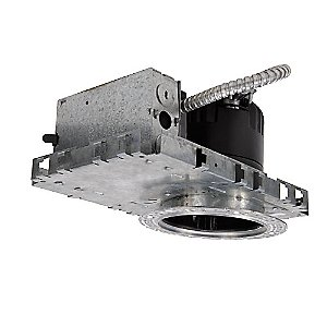 4 Inch LEDme New Construction Housing - Round Invisible Trim - HR-LED418 by WAC Lighting