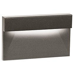 Horizontal LED Ledge Step and Wall Light