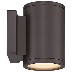 Tube Up and Down Outdoor Wall Light (Bronze) - OPEN BOX