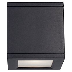 Rubix Outdoor LED Wall Sconce (Black) - OPEN BOX RETURN