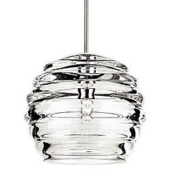 Clarity Pendant Light with Canopy