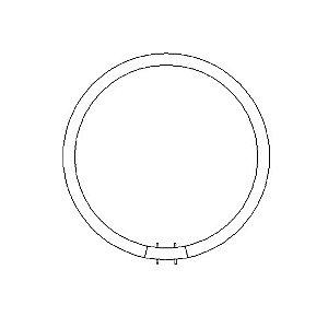 22 Watt T5 Circline by ZANEEN design