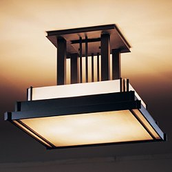 Steppe Large Semi Flush Ceiling Light