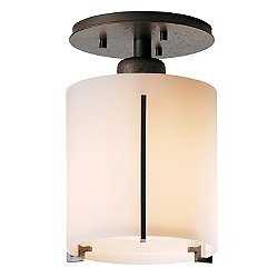 Exos Round Semi-Flush Mount Ceiling Light
