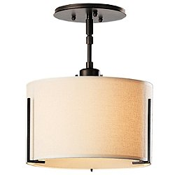 Exos Single Shade Semi-Flush Mount Ceiling Light
