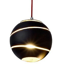 Bond Pendant (Black and Gold/Small) - OPEN BOX RETURN