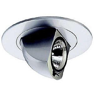4 Inch Premium Low Voltage Directional Round Spot Trim - 80 Degree Adjustment from Vertical - HR-D425 by WAC Lighting