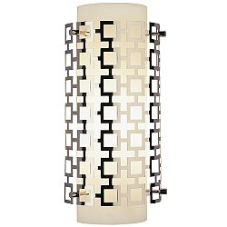 Parker Half Round Wall Sconce (Polished Nickel) - OPEN BOX