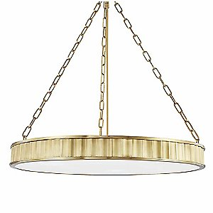 Middlebury Round Pendant Light by Hudson Valley Lighting