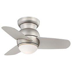 Spacesaver Flush Mount Ceiling Fan