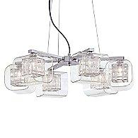 Jewel Box 6 Light Chandelier