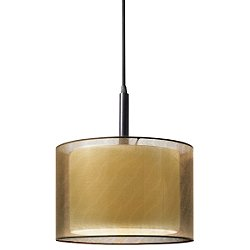 Puri Drum Shade Pendant Light