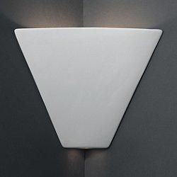Trapezoid Corner Sconce
