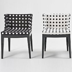 Mademoiselle Chair - Black and White