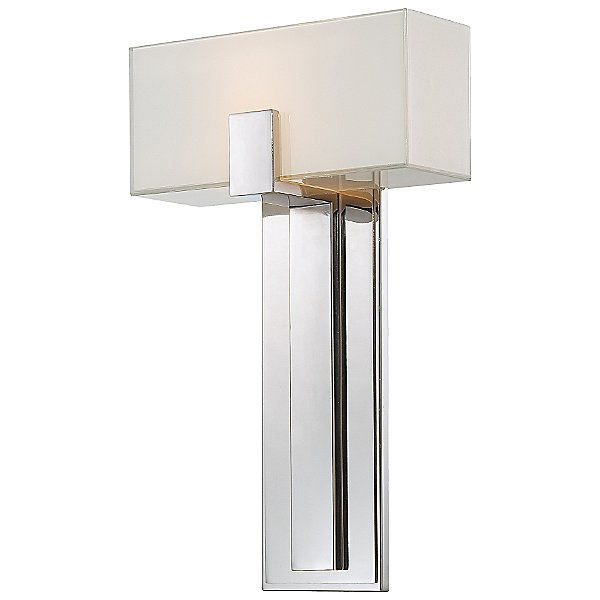 P1704 Wall Sconce By George Kovacs - Color: Silver - Finish: Nickel - (p1704-613)