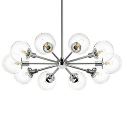 Orb 10-Light Radial Pendant Light