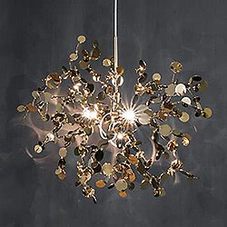 Argent N90S 3 Light Pendant Light