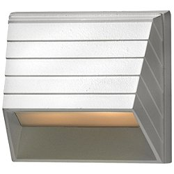 Square LED Deck Sconce