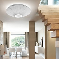 Siam Medium Semi-Flush Mount Ceiling Light