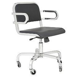 Nine-0 Swivel Armchair - Soft Back