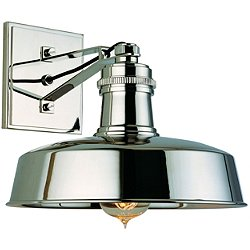 Hudson Falls Wall Sconce (Polished Nickel) - OPEN BOX RETURN