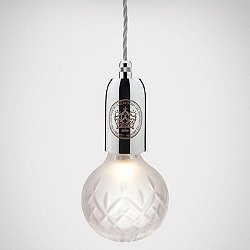Crystal Bulb LED Mini Pendant Light