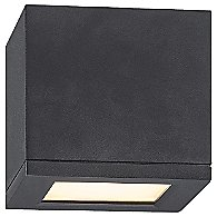 Rubix 5 Inch Indoor Outdoor Flush Mount Ceiling Light