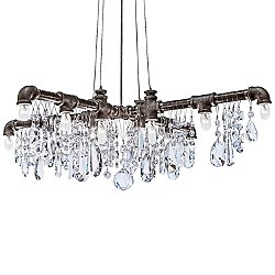 Tribeca X-Shaped Chandelier