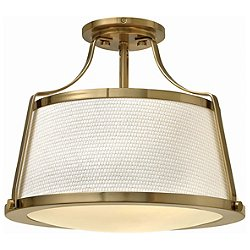 Charlotte Foyer Semi-Flush Mount Ceiling Light