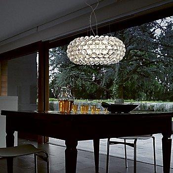 Transparent / in use / illuminated