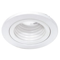 2.5 Inch Low Voltage Metal Trim with Step Baffle 834
