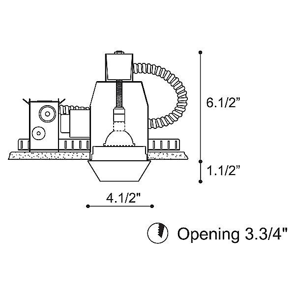 Igea 2 Low Voltage Recessed Lighting Kit