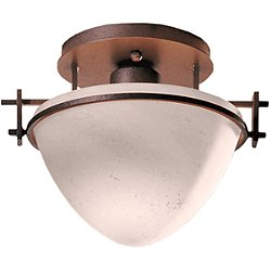 Moonband Semi Flush Mount Ceiling Light