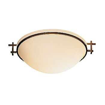 Opal Glass color, Gold finish