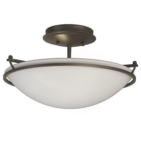 Plain Small Semi Flush Mount Ceiling Light