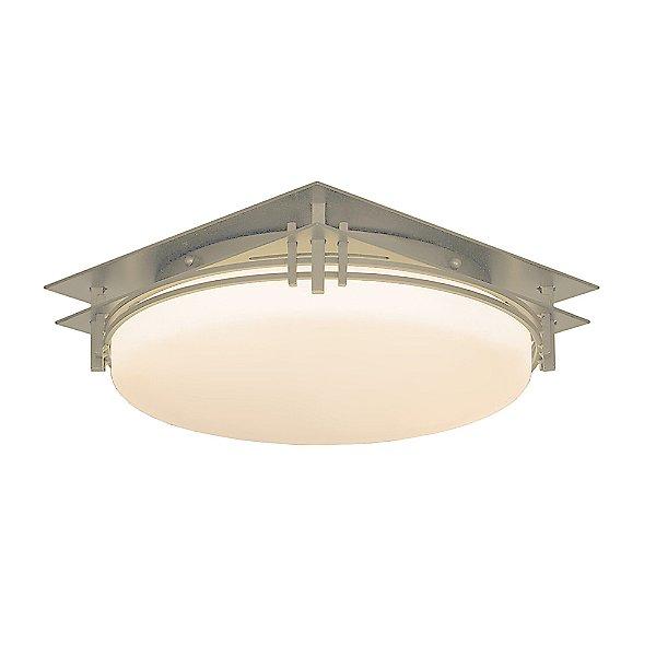 Banded Flush-Mount Ceiling Light