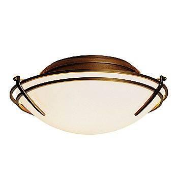 Gold finish / Opal glass color