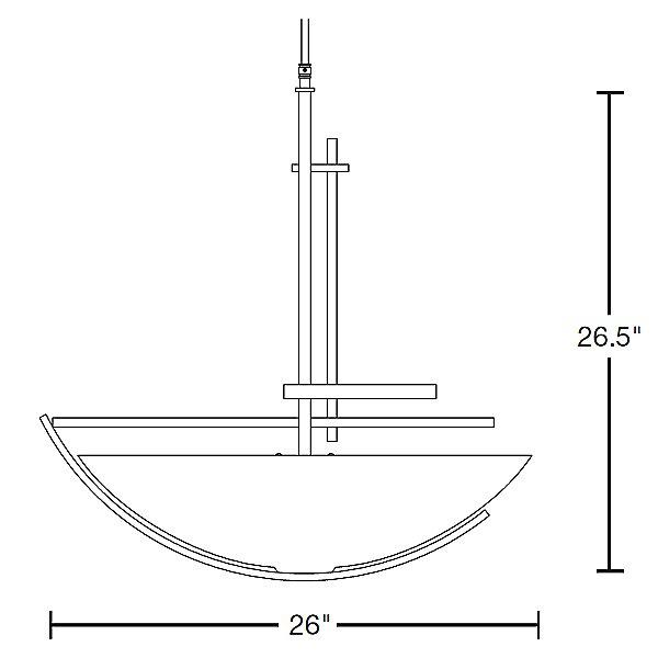 Ondrian Large Bowl Pendant Light