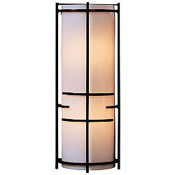 Banded Extended Bars Glass Wall Sconce