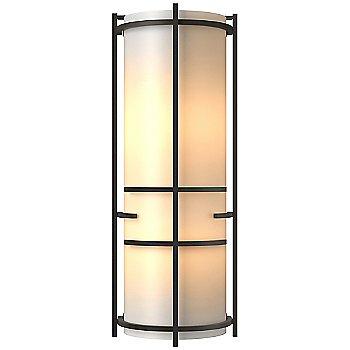 Bronze finish / White Art glass