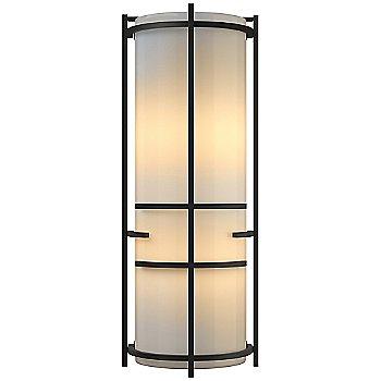 Gold finish / White Art glass