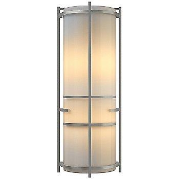 Bronze finish / Ivory Art glass
