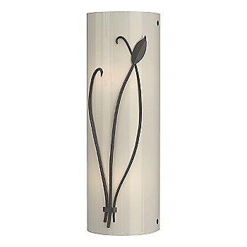 Shown in White Glass color, Dark Smoke finish, Right Position