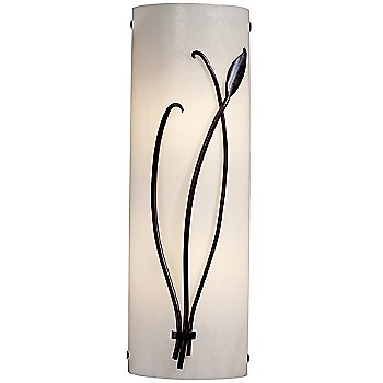 Shown in Ivory Glass color, Dark Smoke finish, Right Position