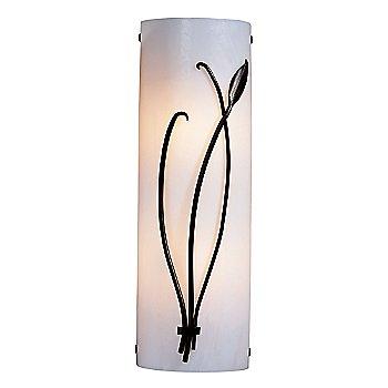 Shown in White Glass color, Bronze Smoke finish, Right Position