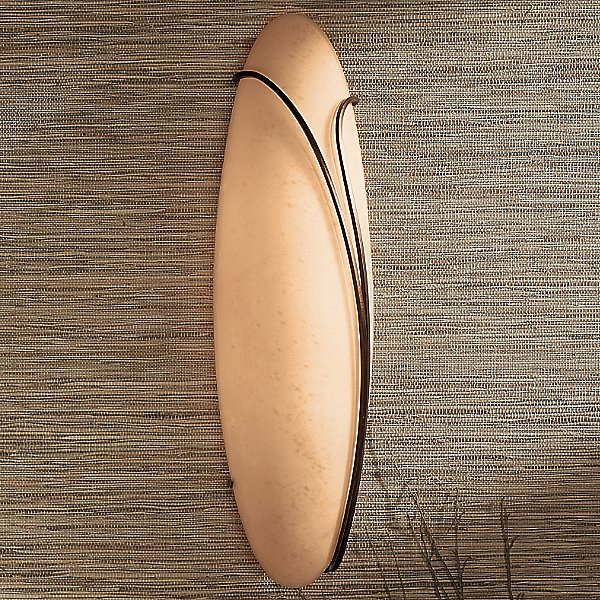 Oval with Reeds Wall Sconce